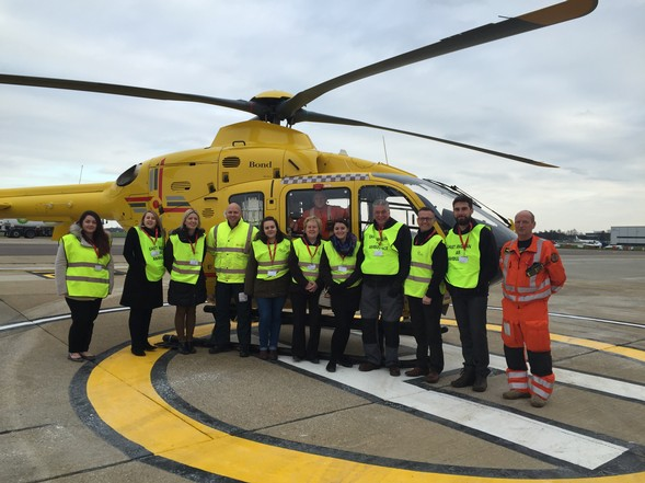 Holiday parks pledge their support for East Anglian Air Ambulance